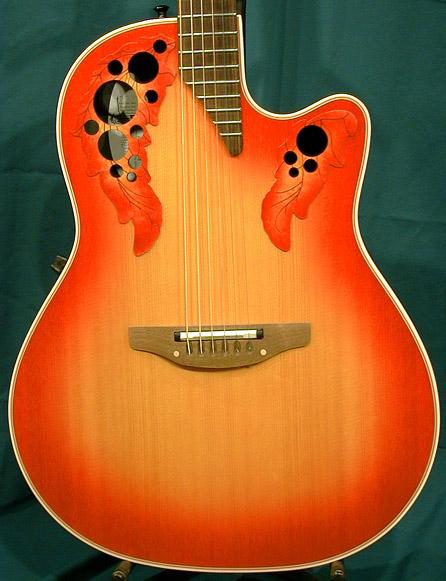Guitar Electro Acoustique Sans Caisse Guitare Acoustique Et Electro